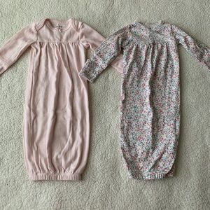 Carters Newborn Sleeper Gowns